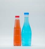 2 бутылки современных дизайна безалкогольного напитка Стоковое Изображение