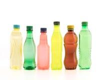 Бутылки с безалкогольным напитком Стоковые Фотографии RF