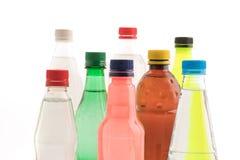 Бутылки с безалкогольным напитком Стоковое Изображение RF