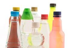 Бутылки с безалкогольным напитком Стоковое Фото