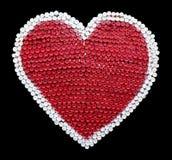 Бутылки с водой пластмассы сердца изолята Стоковые Изображения RF