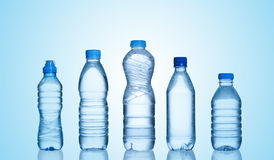 Бутылки с водой Стоковые Изображения RF