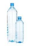 2 бутылки с водой Стоковое Фото