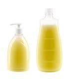 2 бутылки с жидкостным мылом Стоковое Изображение RF