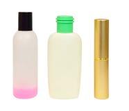Бутылки с косметиками Стоковая Фотография RF