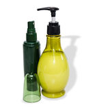2 бутылки с косметиками Стоковое Изображение