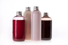 Бутылки с косметической сливк Стоковое Фото