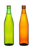 2 бутылки с пивом Стоковая Фотография