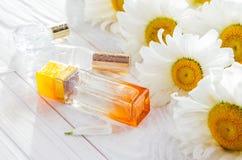 Бутылки дух с стоцветом Стоковые Изображения RF