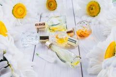 Бутылки дух с стоцветом Стоковые Фото