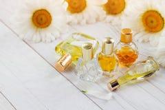 Бутылки дух с стоцветом Стоковые Изображения