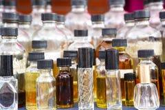 Бутылки эфирного масла Стоковые Фотографии RF