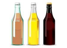 бутылкой Стоковые Изображения RF