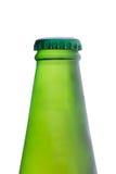 Бутылочное стекло изолята пива на белой предпосылке Стоковая Фотография RF