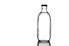 Бутылочное стекло соды на белой предпосылке Стоковые Фото