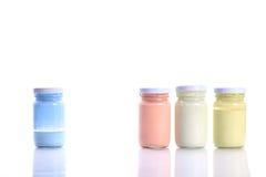 Бутылочное стекло цвета Стоковая Фотография RF