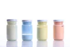 Бутылочное стекло цвета Стоковые Изображения RF