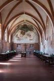 Буфет friars монастыря Chiaravalle стоковое изображение rf