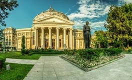 Бухарест -- Атеней стоковые фотографии rf