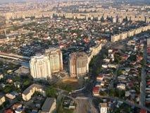 Бухарест - вид с воздуха Стоковая Фотография RF