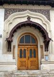 Бухарест, Румыния: Монастырь Antim - вход библиотеки стоковое фото rf