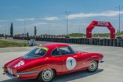 Бухарест, Румыния - 11-ое июля 2015: Retromobil Grand Prix 2015 Стоковые Изображения