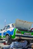 Бухарест, Румыния - 11-ое июля 2015: Retromobil Grand Prix 2015 Стоковое Изображение
