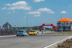Бухарест, Румыния - 11-ое июля 2015: Retromobil Grand Prix 2015 Стоковое Изображение RF