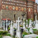Бухарест, Румыния - 10-ое ноября: Серебряная церковь ножа на Novemb Стоковые Фото