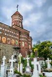 Бухарест, Румыния - 10-ое ноября: Серебряная церковь ножа на Novemb Стоковое Фото