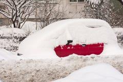 БУХАРЕСТ РУМЫНИЯ - 14-ое февраля: Аномалии погоды Стоковые Фото