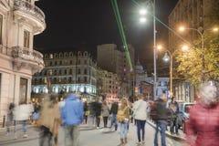 Бухарест - Calea Victoriei стоковое изображение rf