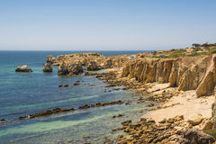 Бухта пляжа Стоковое фото RF
