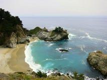 Бухта фарфора пляжа Калифорнии Стоковая Фотография