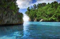 бухточка тропическая стоковое изображение