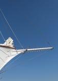 Бушприт большого парусника Стоковая Фотография