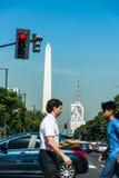 Буэнос-Айрес, Аргентина - 9-ое апреля 2015: Неопознанное дело p Стоковое Изображение