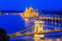 Будапешт, Венгрия Стоковая Фотография RF