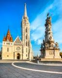 Будапешт, собор Mathias, Венгрия Стоковое Фото