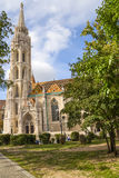 Будапешт. Церковь Matthias Стоковое Фото