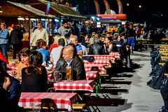 Будапешт Oktoberfest Стоковая Фотография