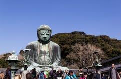 Будда большой kamakura стоковое фото rf