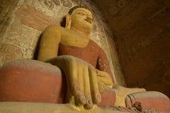 Будда в виске Bagan Стоковое фото RF