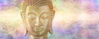 Будда в глубоком созерцании Стоковые Изображения