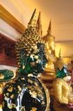 Будда в золотом mont Таиланде стоковое фото rf