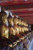 Будда в линии Стоковая Фотография RF