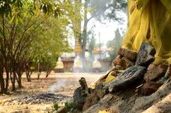Будда загубил статую Стоковые Фото