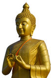 Будда золотистый Стоковая Фотография
