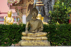 Будда золотистый Стоковые Изображения