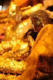 Будда золотой Стоковое фото RF